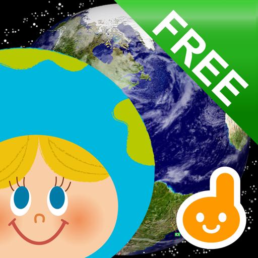教育のタッチ!うごくちずこっきFREE-子供向け地図・国旗アプリ- LOGO-記事Game
