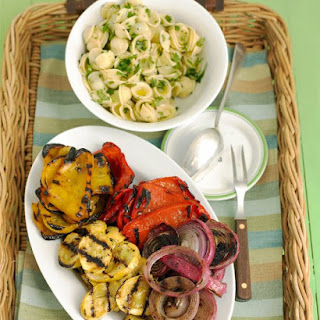 Mixed Grilled Vegetables.