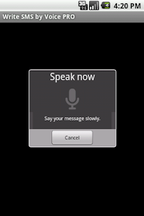 Write SMS by Voice PRO- screenshot thumbnail