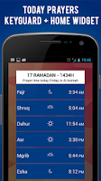 Screenshot of Kuwait Prayer Times