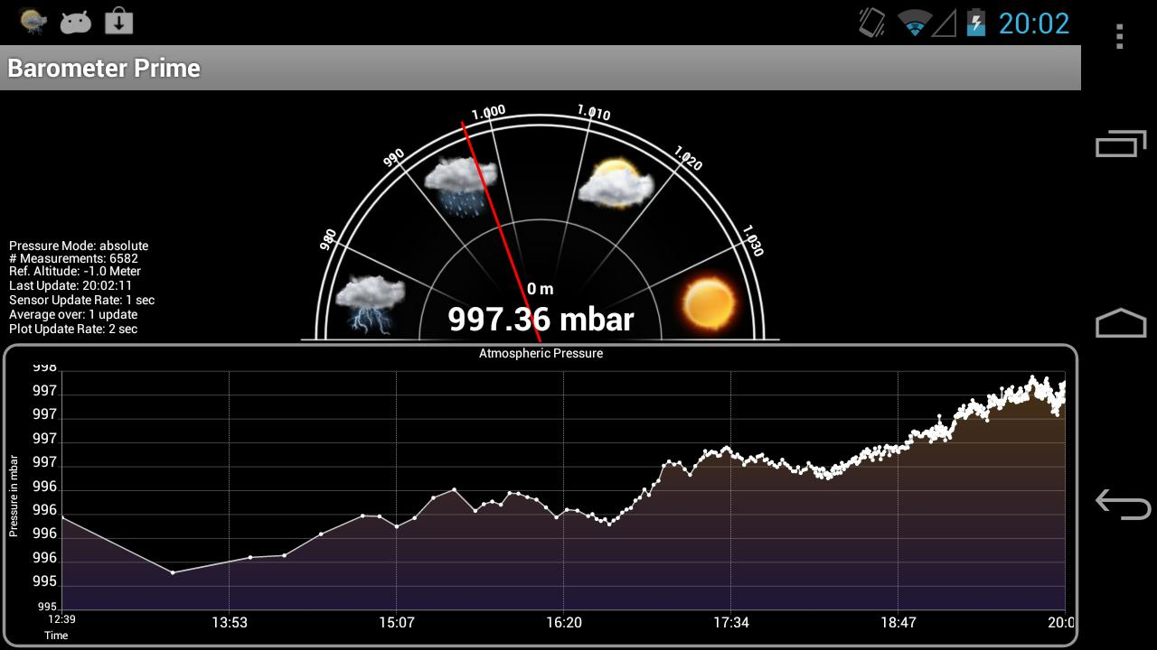 Barometer Prime - screenshot
