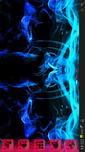 【免費個人化App】GO桌面主題綠色的煙霧-APP點子