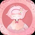 카카오톡 테마 - 기린소녀 핑크