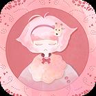 카카오톡 테마 - 기린소녀 핑크 icon