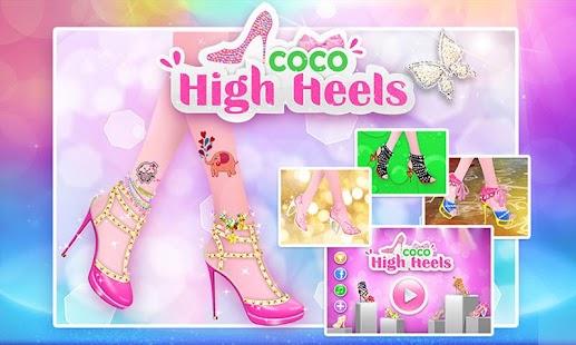 Coco High Heels 1.0.3 APK + Mod (Unlocked / Full / No Ads) إلى عن على ذكري المظهر