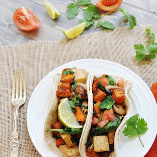 Sweet Potato and Tofu Breakfast Tacos