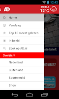 Screenshot of AD.nl Mobile