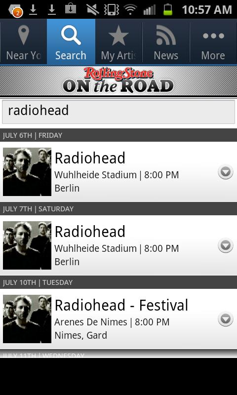 Rolling Stone: On the Road - screenshot