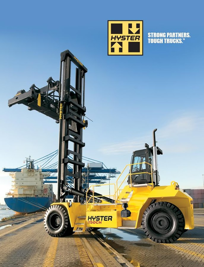 Hyster Forklifts North America- screenshot
