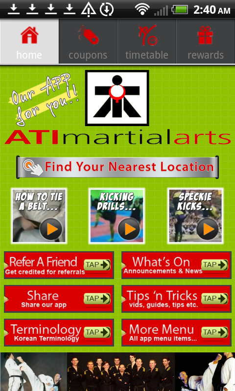 ATI Martial Arts- screenshot