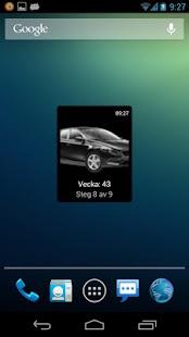 Min Volvo Widget - screenshot thumbnail