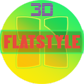 NEXT LAUNCHER THEME FLATSTYLE