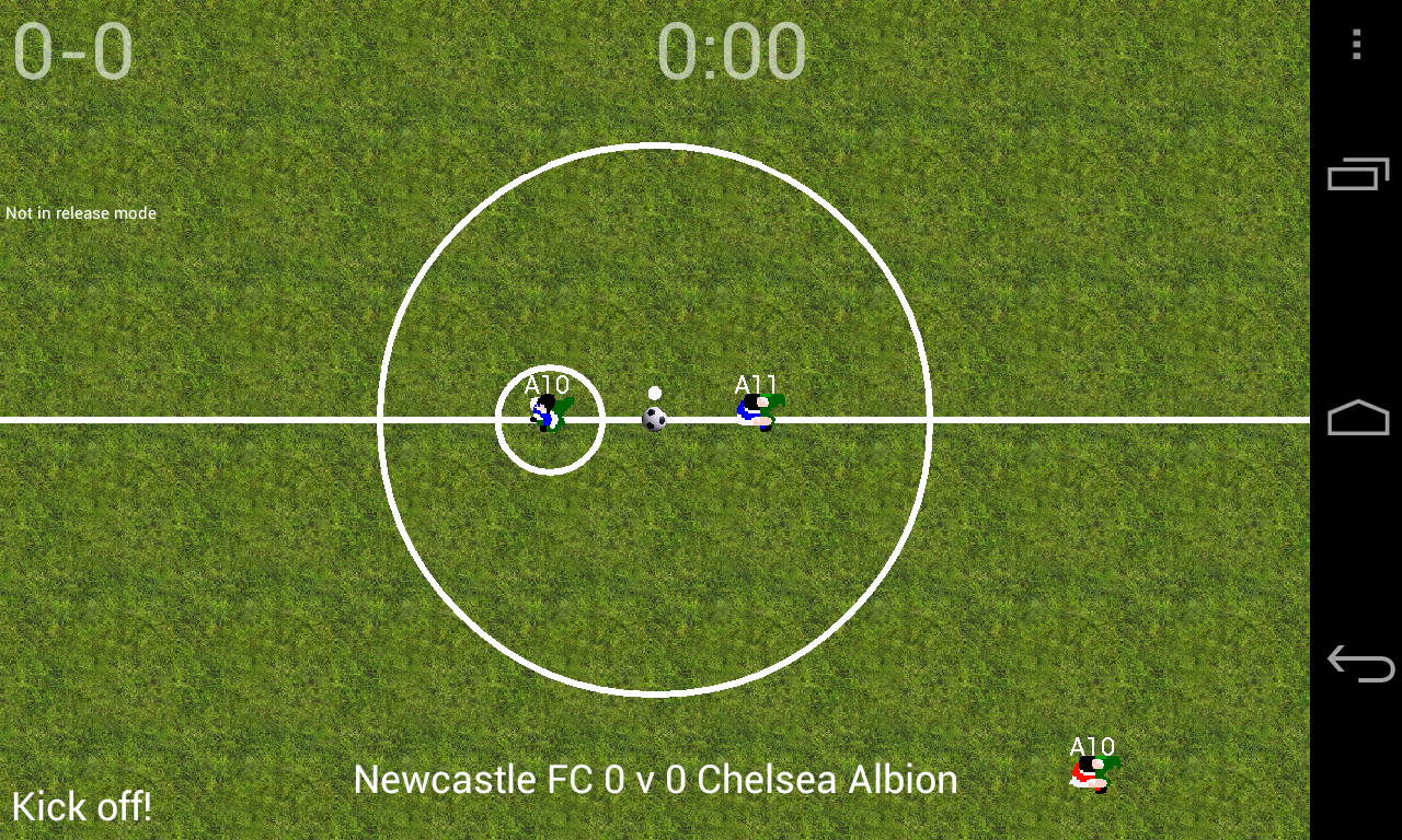 Soccer for Android (Lite) - screenshot