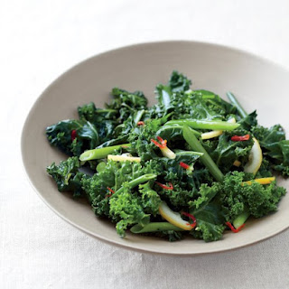 Spicy Sauteed Kale with Lemon