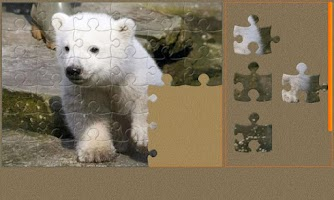 Screenshot of Baby Animals Jigsaw Puzzles