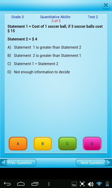 Free Grade 3 Math English 3rd- screenshot