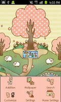Screenshot of Small Village Theme