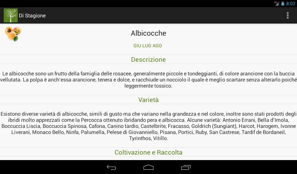 Di Stagione- screenshot