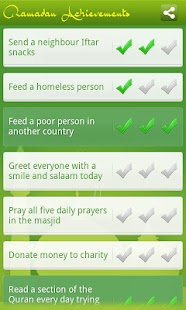 Ramadan Achievements- screenshot thumbnail
