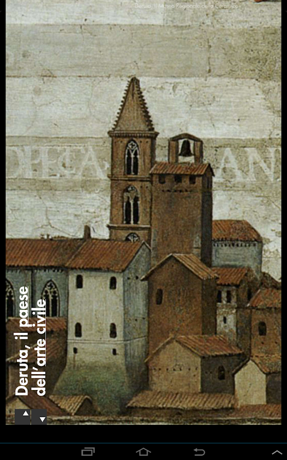 Deruta - Umbria Musei- screenshot