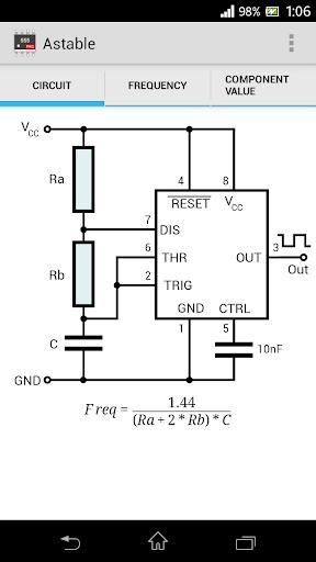 Timer IC 555 Calculator Pro