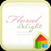 Floral dodol launcher theme