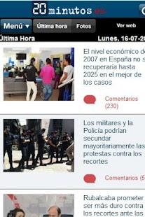 Noticias España- screenshot thumbnail