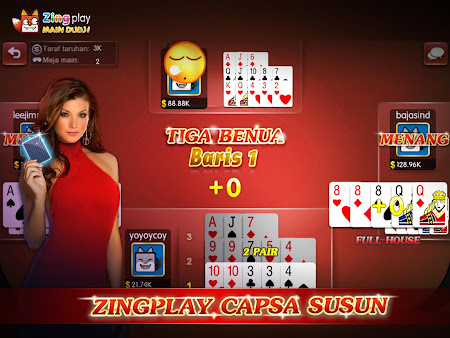 ZingPlay - Capsa susun 1.1 screenshot 360191