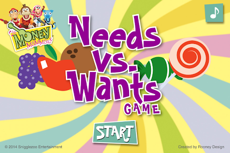 Money Mammals ® Needs vs Wants- screenshot thumbnail