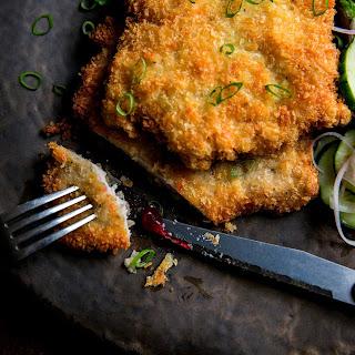 Pork Schnitzel With Quick Pickles