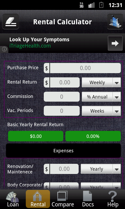 REInvestor Lite - screenshot