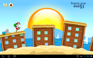Screenshot of Run Santa Run - Vacations