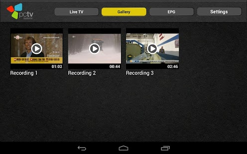 TVCenter for Android- screenshot thumbnail