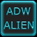 ADW Alien Abstract Aqua Theme icon