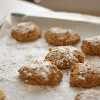 Whole Wheat Pumpkin Cookies.