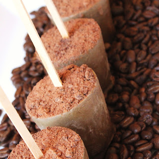 Coffee-Cardamom Popsicles with Guittard Chocolate Powder