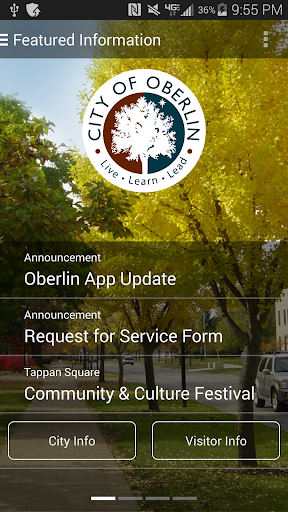 The Official App of Oberlin OH