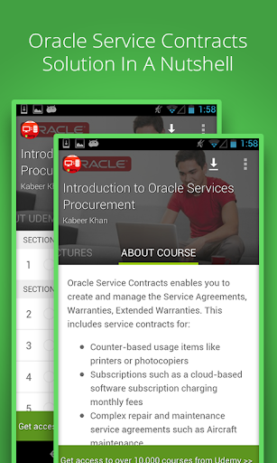 Oracle Service Course