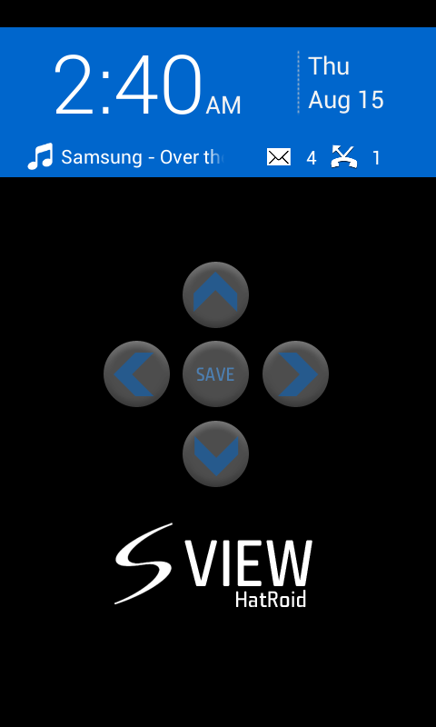 S View - HatRoid - screenshot