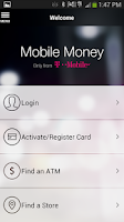 Screenshot of Mobile Money by T-Mobile