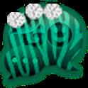 GO SMS - Zebra Diamonds 2 icon