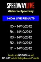 Screenshot of Speedway Live