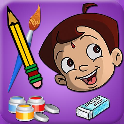 Draw & Color Chhota Bheem 娛樂 App LOGO-硬是要APP