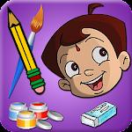 Draw & Color Chhota Bheem