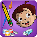 Draw & Color Chhota Bheem icon