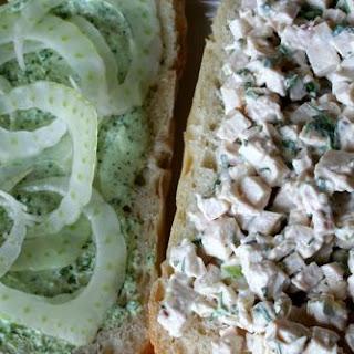 Emerald City Chicken Salad Sandwich