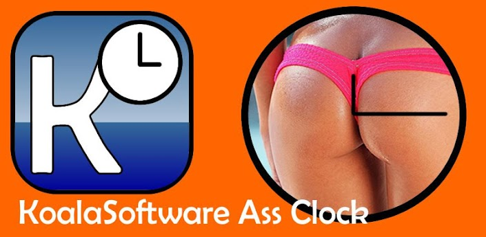 Ass Clock Widget