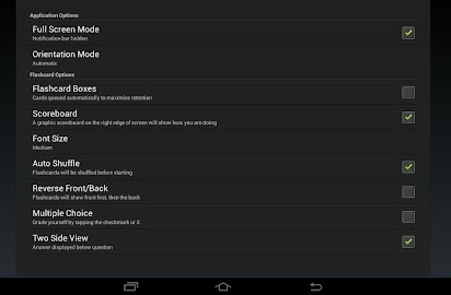 gFlash+ Flashcards & Tests Screenshot 10