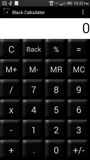 Black Calculator Full