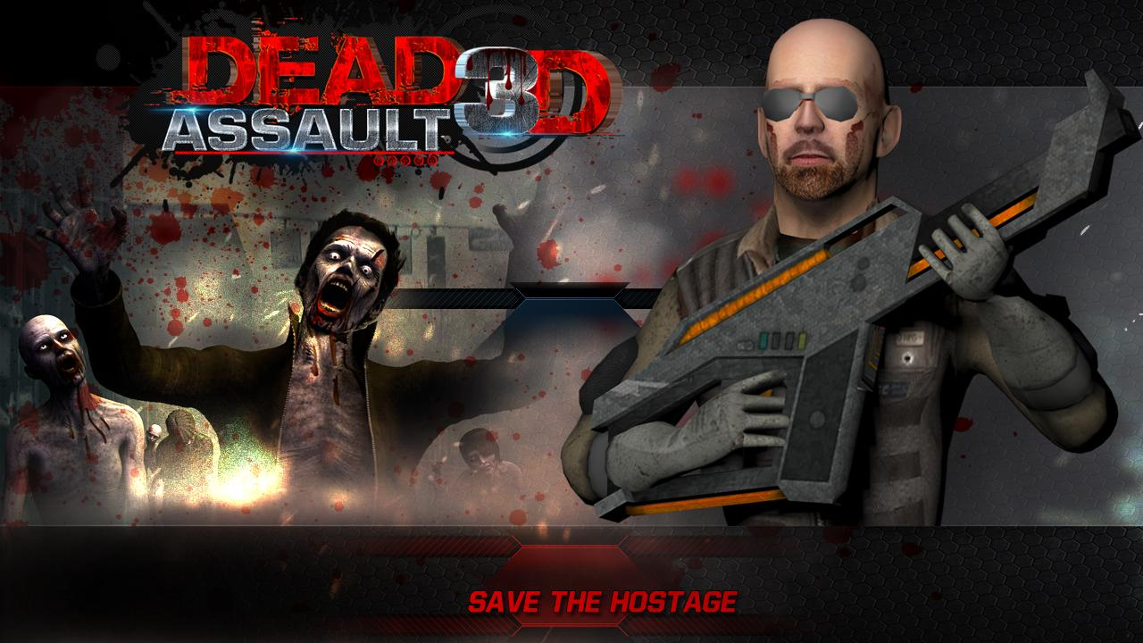 DEAD ASSAULT 3D- screenshot